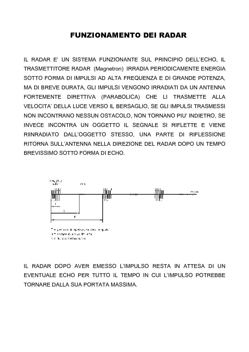 Anteprima della tesi: Principi di funzionamento del radar. Analisi teorica e misure del componente Front-End, Pagina 3