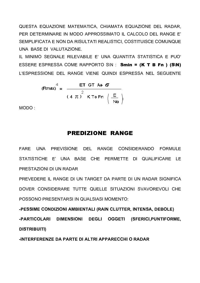 Anteprima della tesi: Principi di funzionamento del radar. Analisi teorica e misure del componente Front-End, Pagina 6