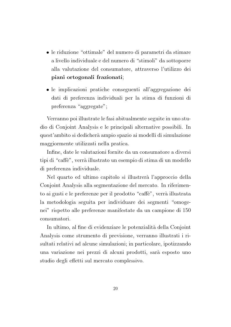 Anteprima della tesi: La Conjoint Analysis nelle ricerche di marketing, Pagina 16