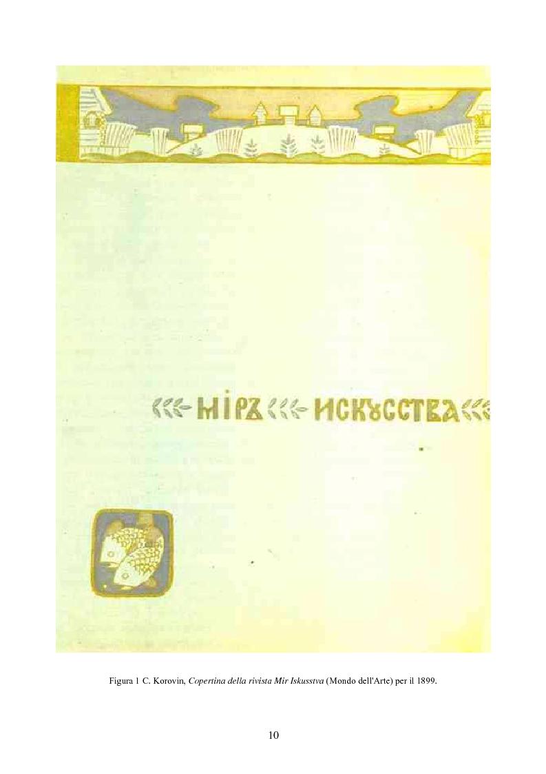 Anteprima della tesi: Impressionismo Russo, Pagina 7