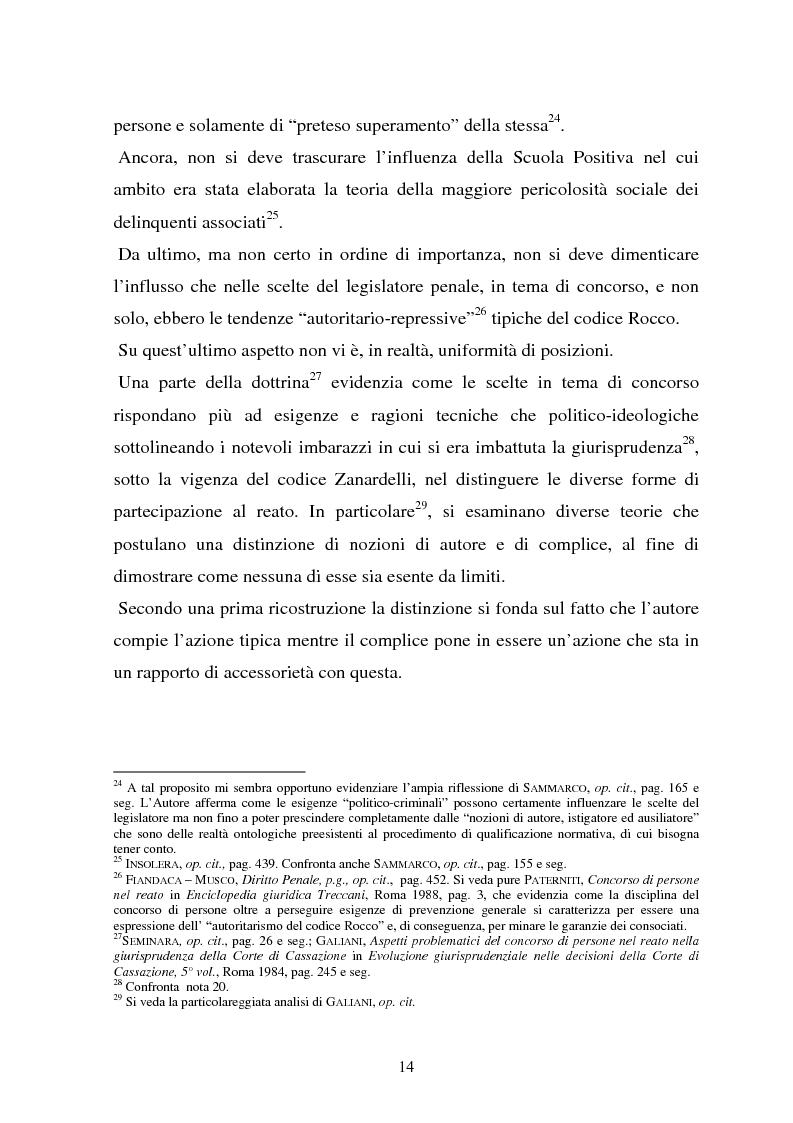 Anteprima della tesi: La responsabilità dei capi delle associazioni criminose per i delitti-scopo, Pagina 10