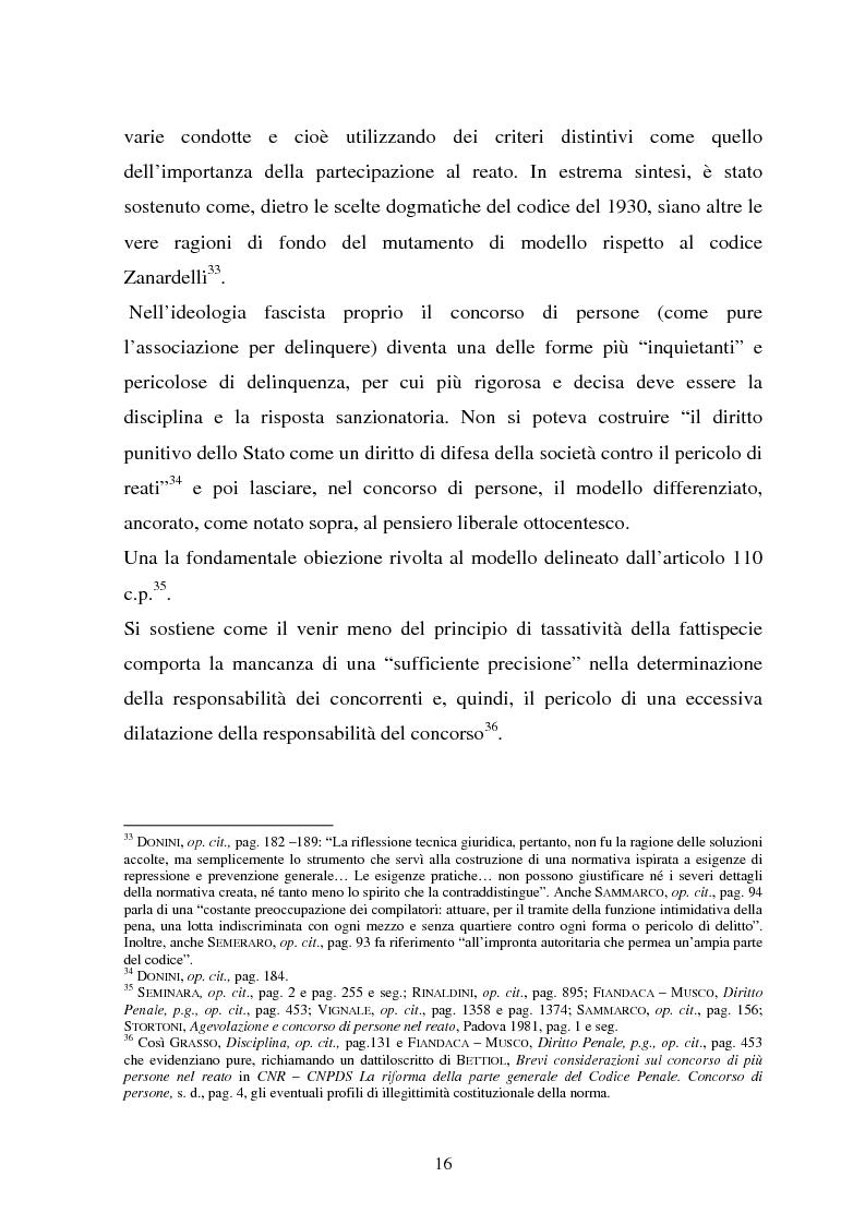 Anteprima della tesi: La responsabilità dei capi delle associazioni criminose per i delitti-scopo, Pagina 12