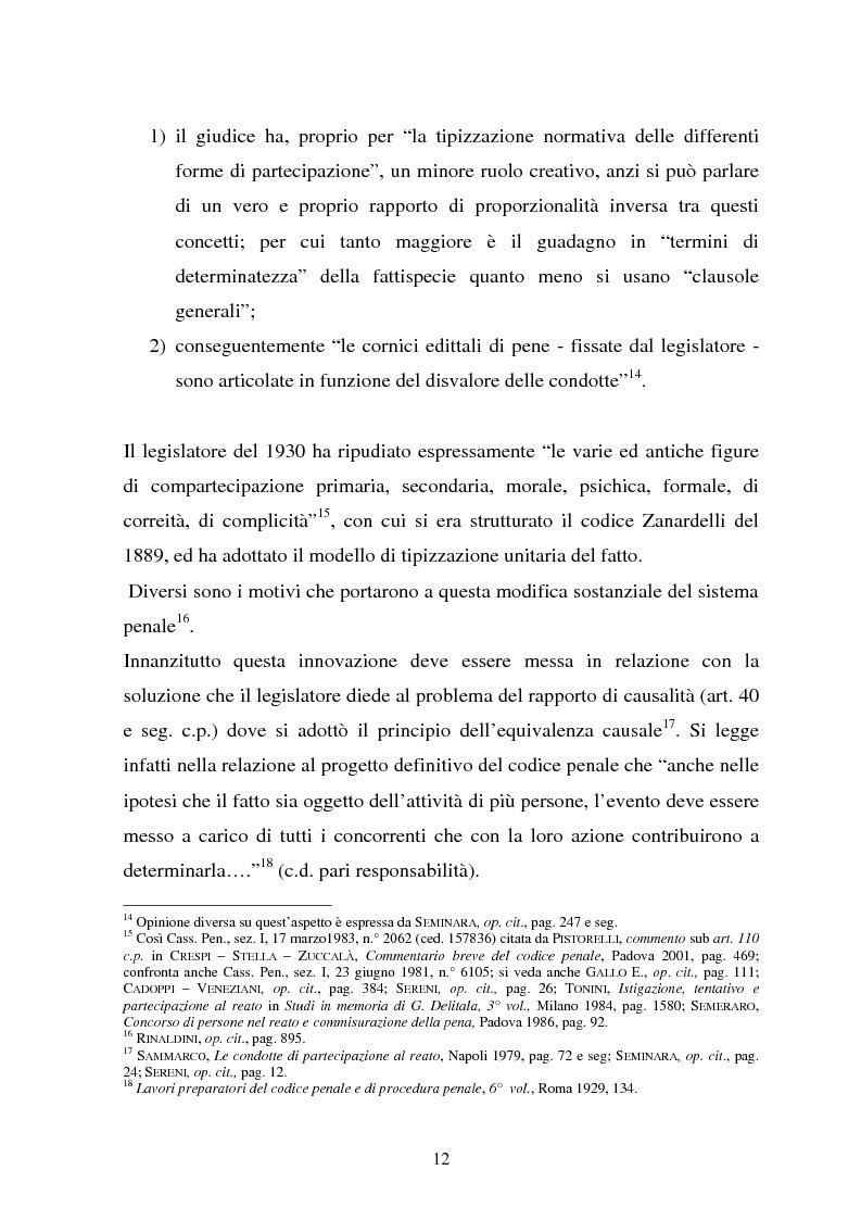 Anteprima della tesi: La responsabilità dei capi delle associazioni criminose per i delitti-scopo, Pagina 8