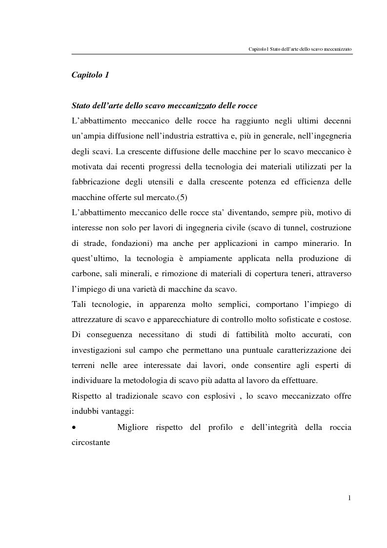 Anteprima della tesi: Progressi nello scavo meccanizzato con sinergia waterjet, Pagina 1