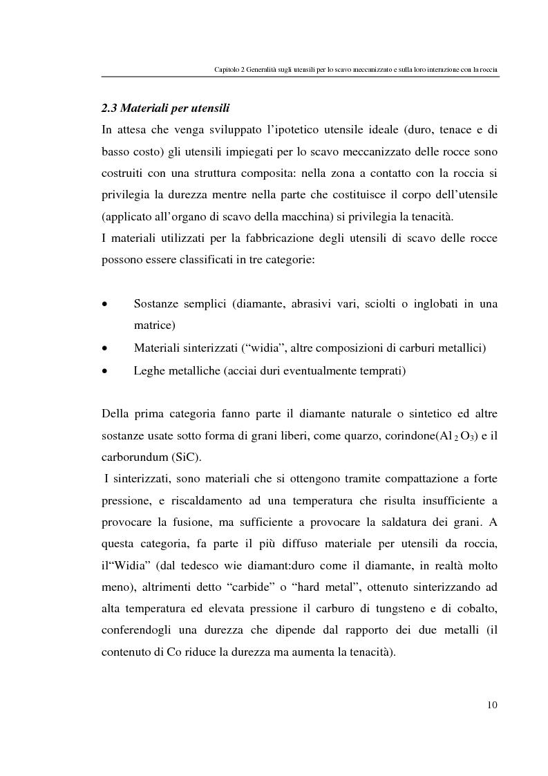 Anteprima della tesi: Progressi nello scavo meccanizzato con sinergia waterjet, Pagina 10