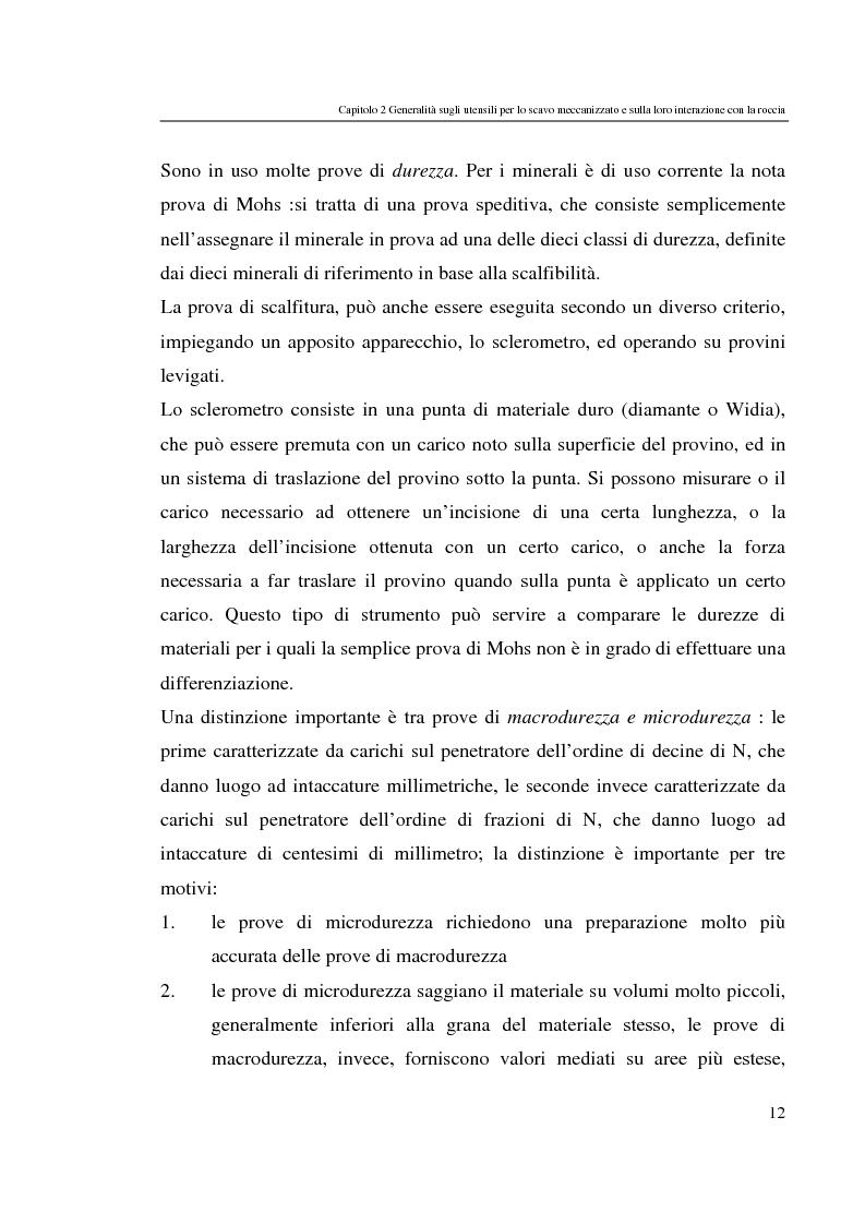 Anteprima della tesi: Progressi nello scavo meccanizzato con sinergia waterjet, Pagina 12