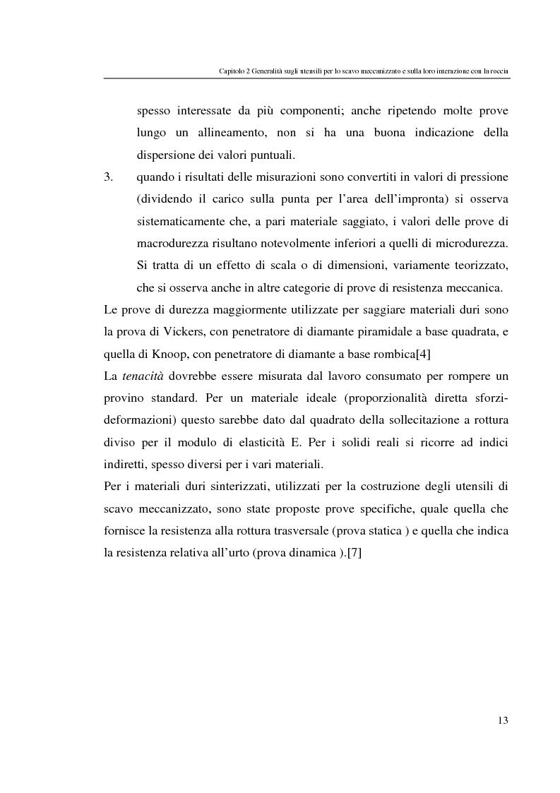 Anteprima della tesi: Progressi nello scavo meccanizzato con sinergia waterjet, Pagina 13