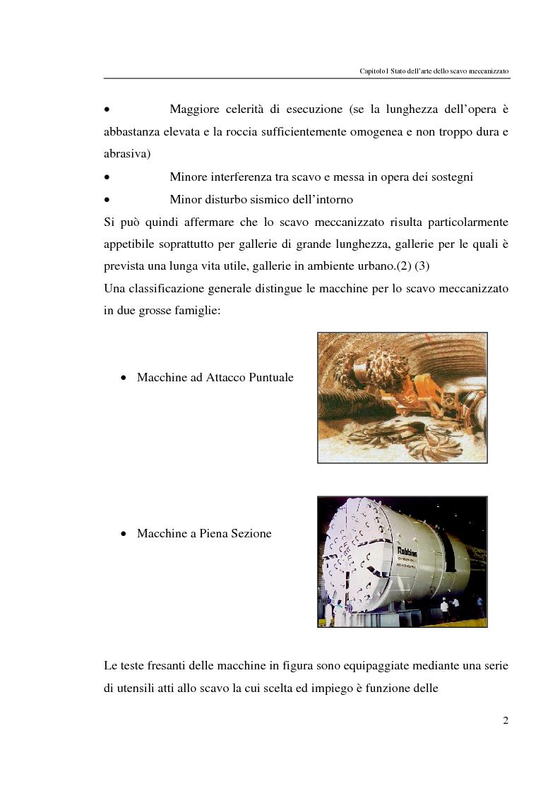 Anteprima della tesi: Progressi nello scavo meccanizzato con sinergia waterjet, Pagina 2