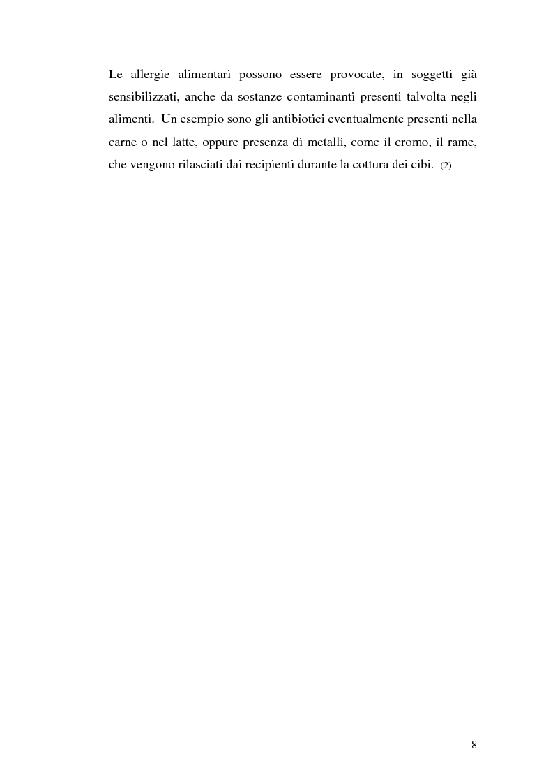 Anteprima della tesi: Aspetti eziopatogenetici e di prevenzione di patologie alimentari: morbo celiaco, Pagina 8