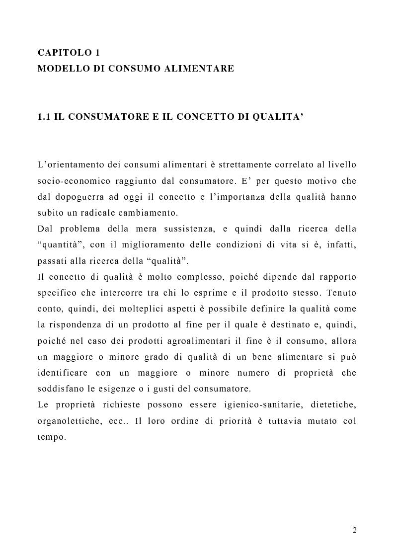 Anteprima della tesi: Il ruolo dei marchi collettivi nel settore agroalimentare: il caso della ''farfalla bianca'', Pagina 2