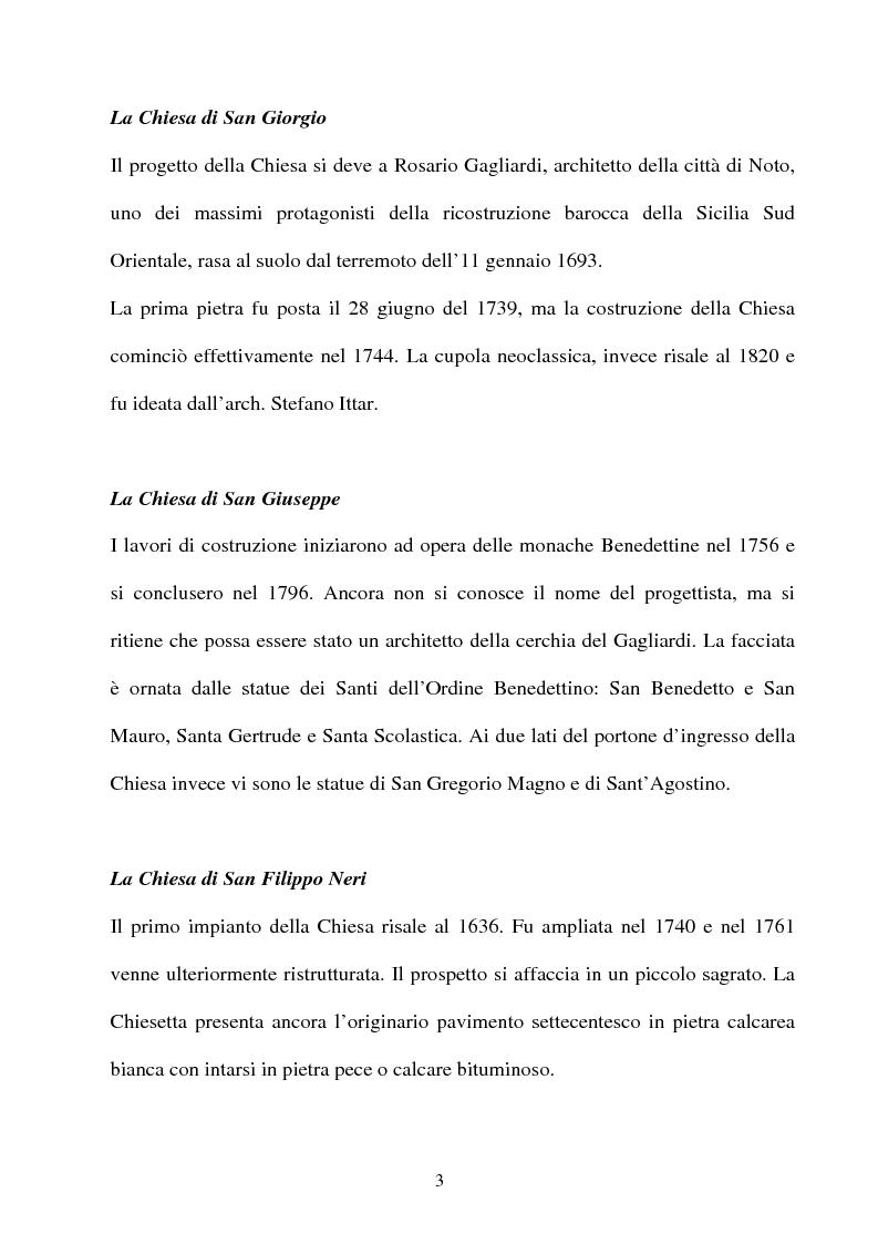 Anteprima della tesi: Ragusa: Patrimonio Mondiale dell'Umanità, Pagina 2