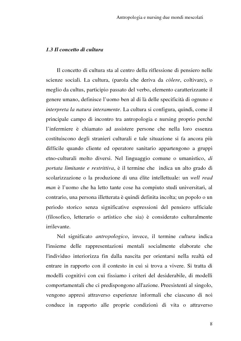 Anteprima della tesi: Madeleine Leininger e il nursing transculturale, Pagina 12
