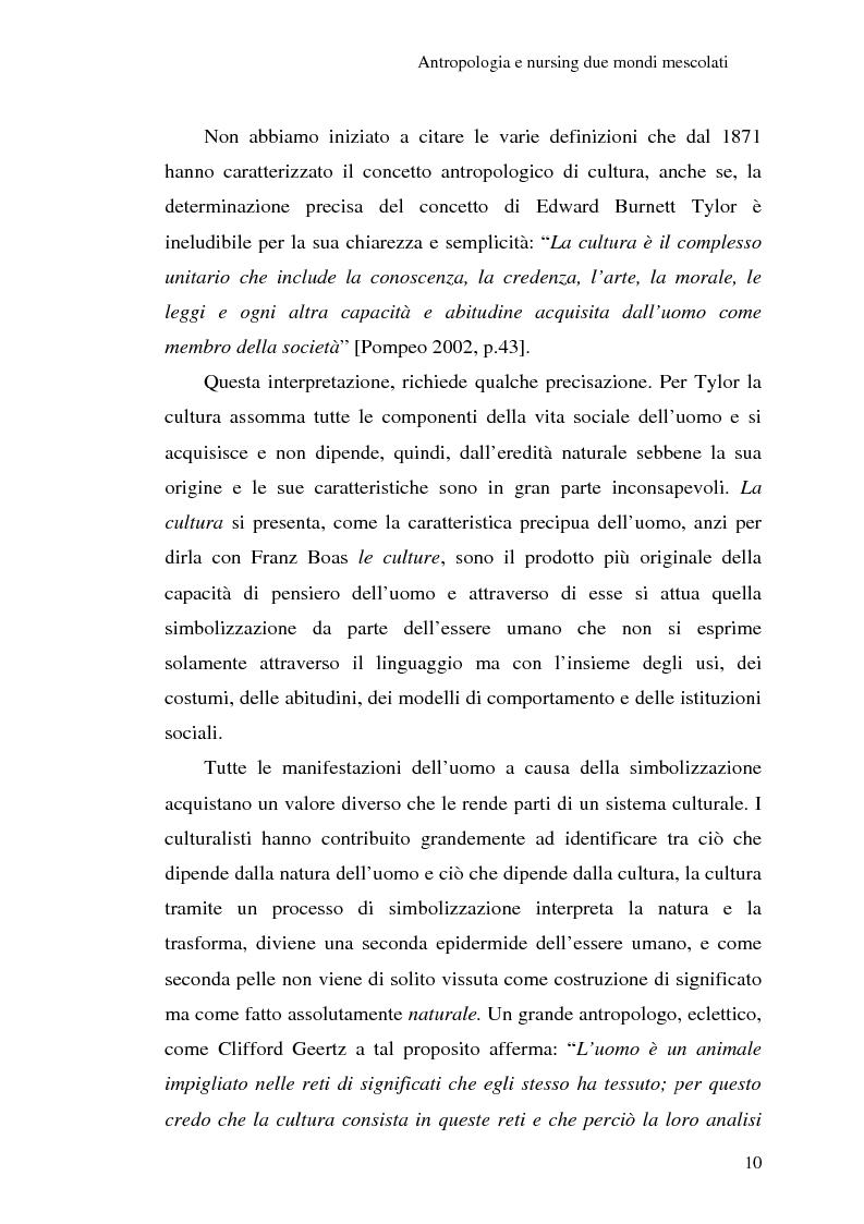 Anteprima della tesi: Madeleine Leininger e il nursing transculturale, Pagina 14