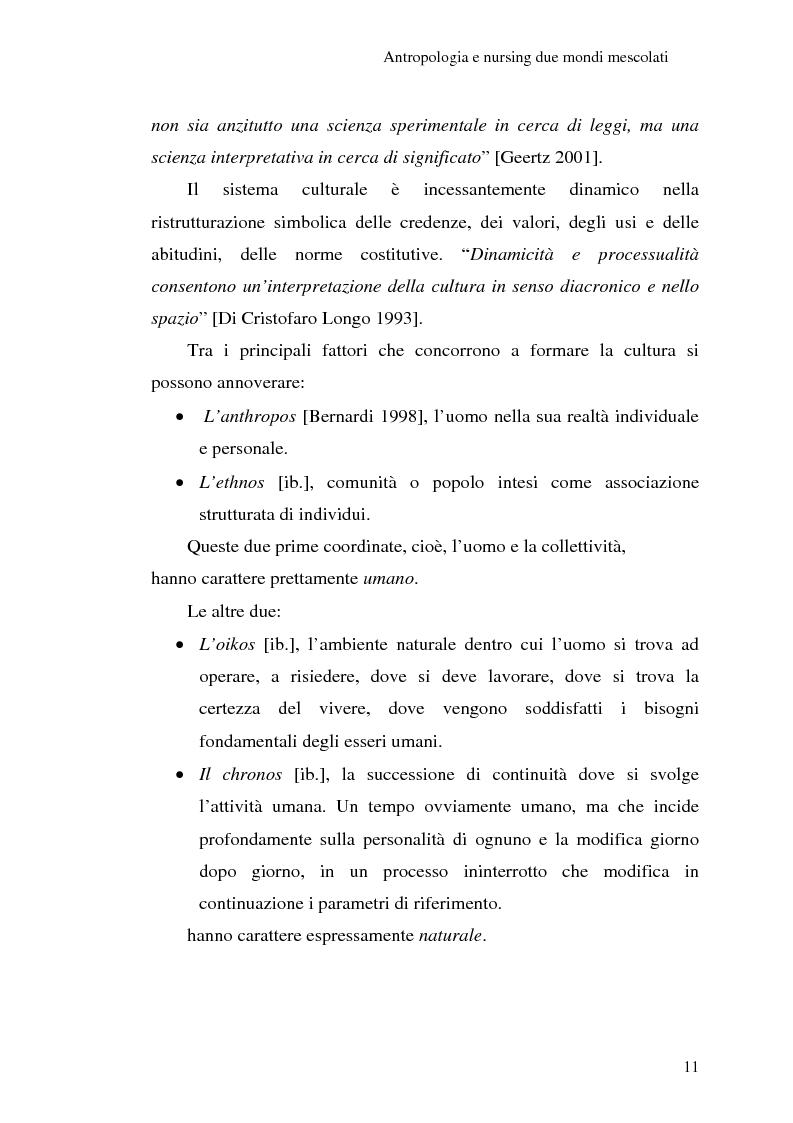 Anteprima della tesi: Madeleine Leininger e il nursing transculturale, Pagina 15