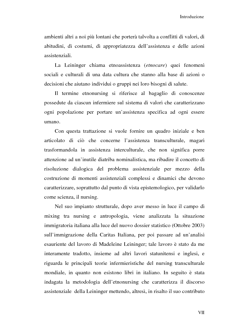 Anteprima della tesi: Madeleine Leininger e il nursing transculturale, Pagina 3