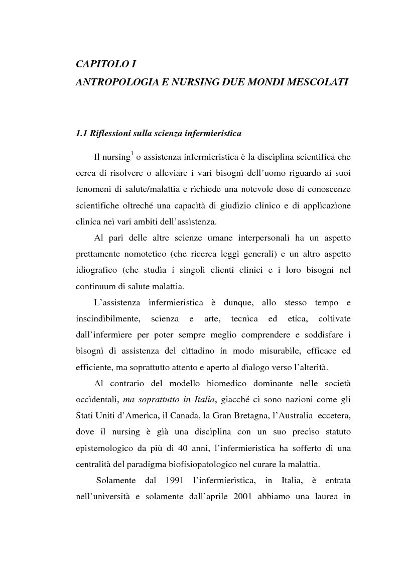 Anteprima della tesi: Madeleine Leininger e il nursing transculturale, Pagina 5