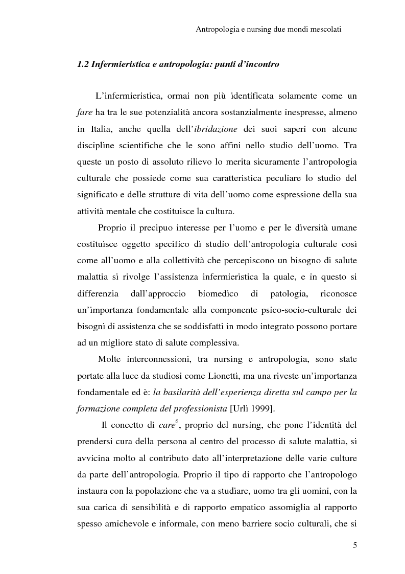 Anteprima della tesi: Madeleine Leininger e il nursing transculturale, Pagina 9