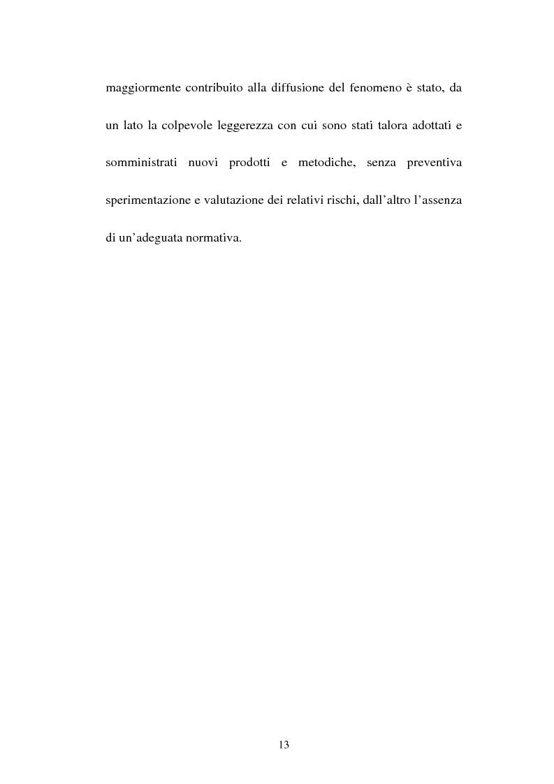 Anteprima della tesi: Attività sportiva e legislazione antidoping, Pagina 9