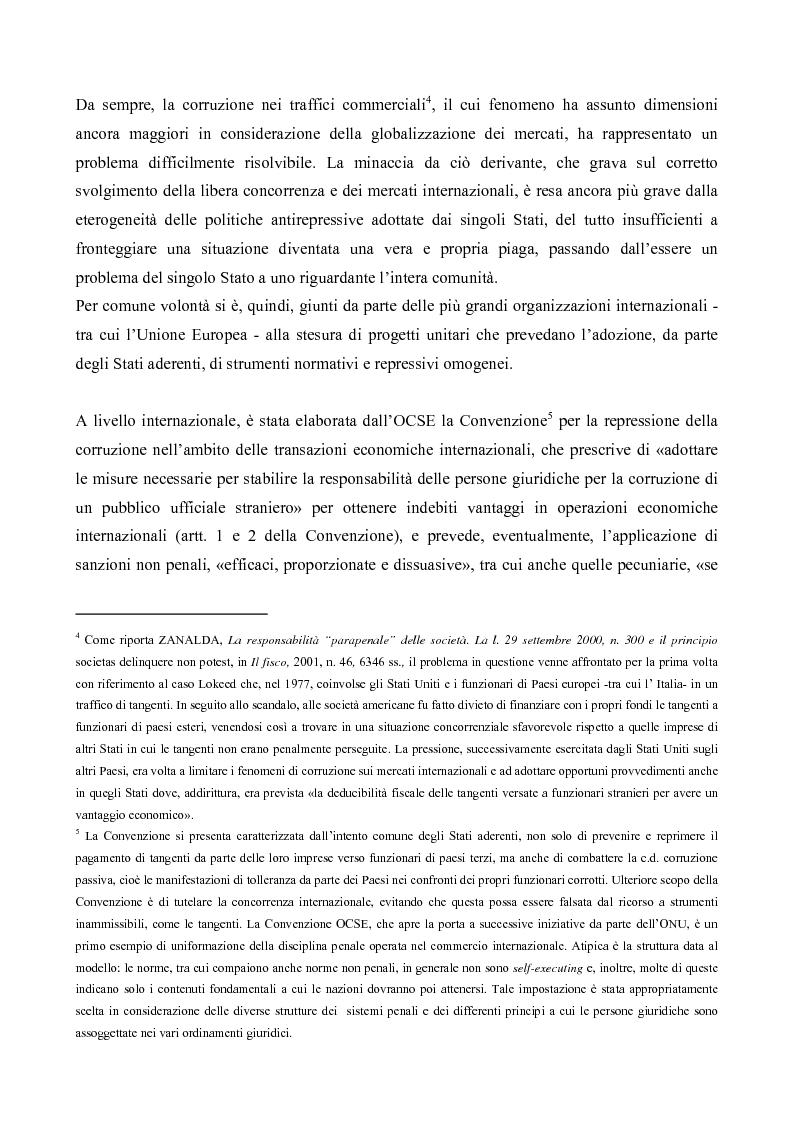 Anteprima della tesi: Il processo penale alle persone giuridiche nel d. lgs. 8 giugno 2001, n. 231, Pagina 2