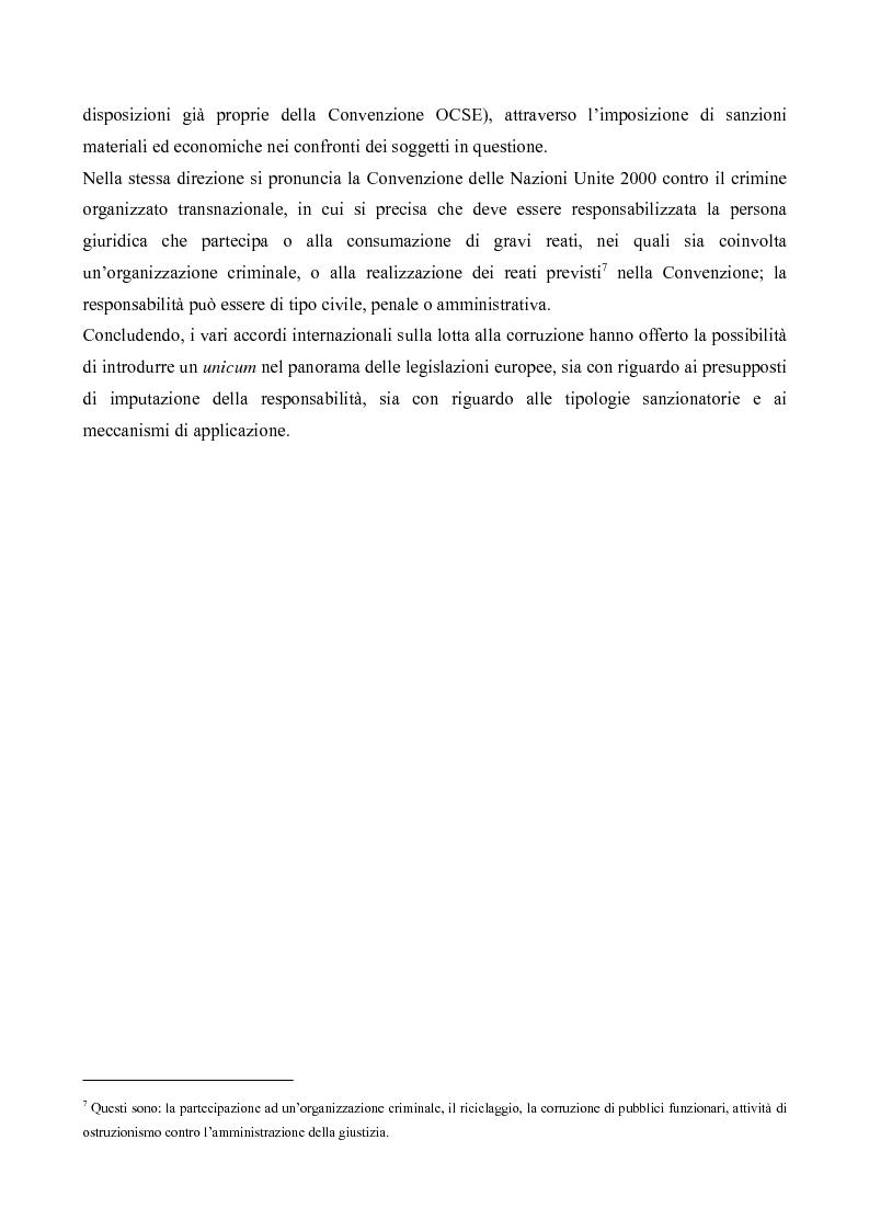 Anteprima della tesi: Il processo penale alle persone giuridiche nel d. lgs. 8 giugno 2001, n. 231, Pagina 4