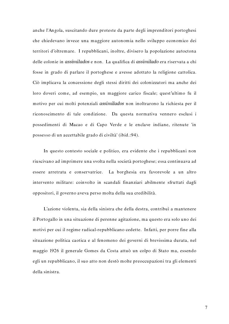 Anteprima della tesi: La politica estera del Portogallo e l'Europa, Pagina 6