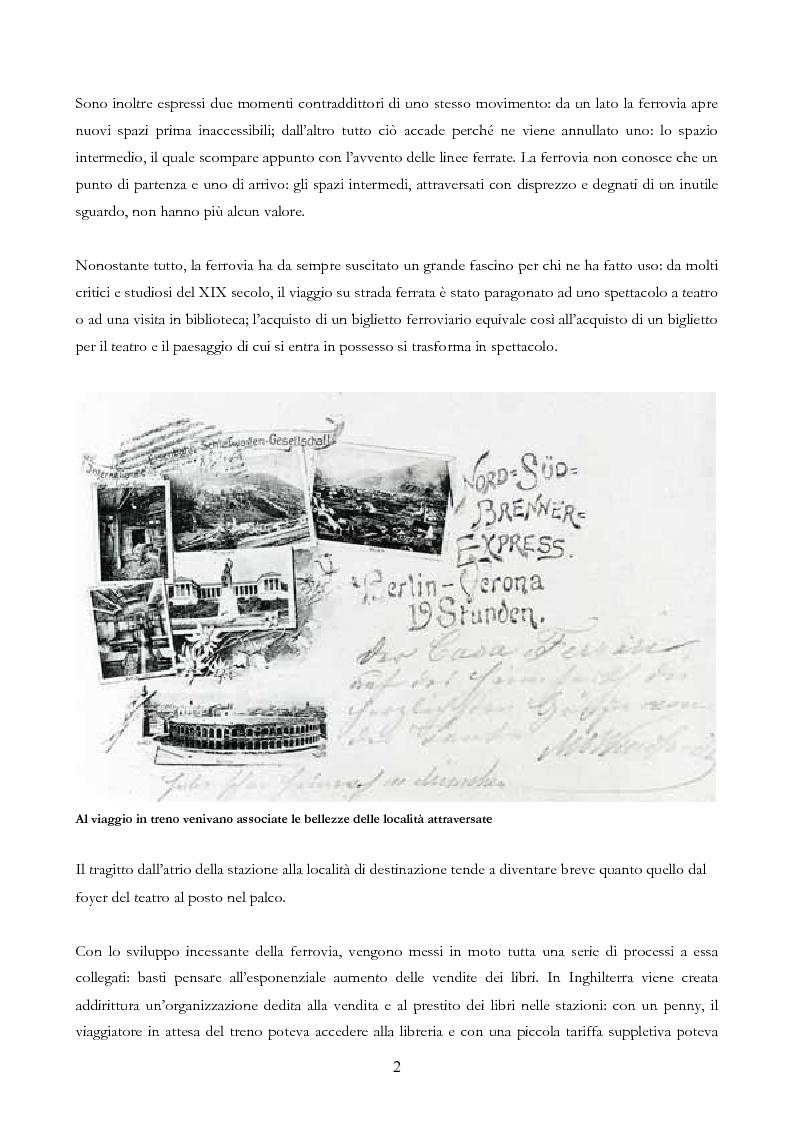Anteprima della tesi: Infrastruttura e territorio: analisi storica del rapporto tra ferrovia e spazio abitato, Pagina 2