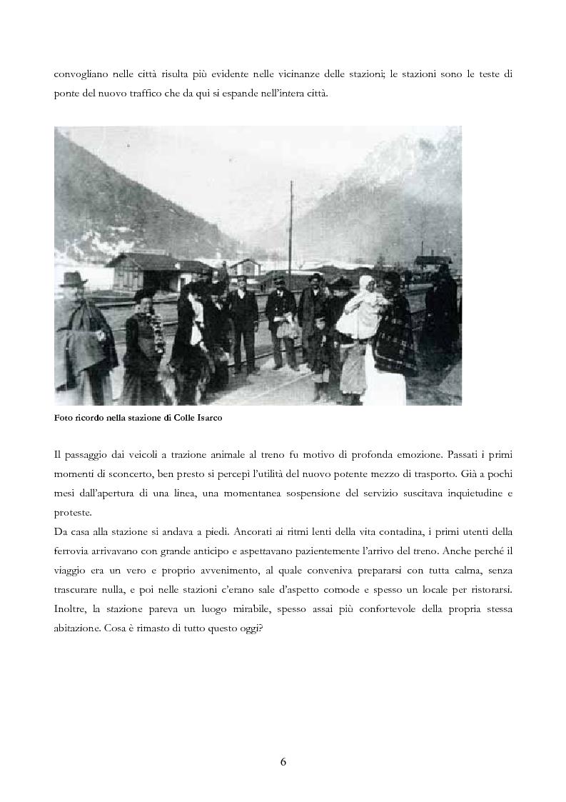 Anteprima della tesi: Infrastruttura e territorio: analisi storica del rapporto tra ferrovia e spazio abitato, Pagina 6