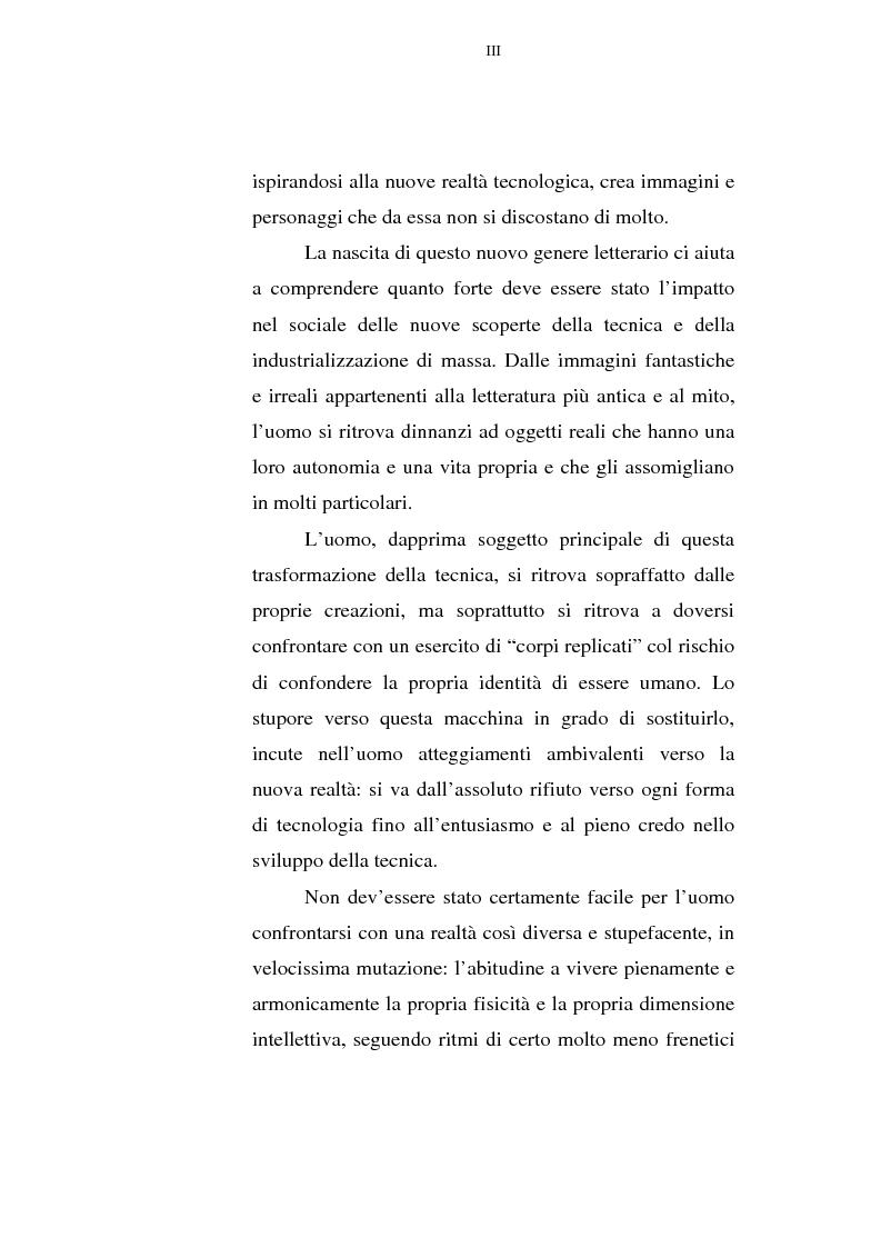 Anteprima della tesi: Il corpo tecnologico: verso un nuovo modello relazionale, Pagina 3