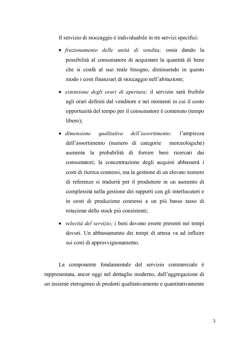 Anteprima della tesi: Evoluzione del ruolo della logistica nella distribuzione moderna, Pagina 10