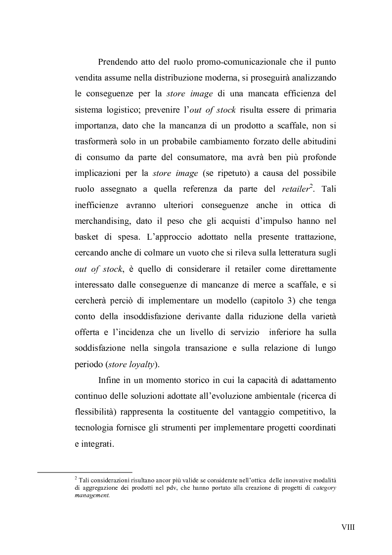Anteprima della tesi: Evoluzione del ruolo della logistica nella distribuzione moderna, Pagina 5