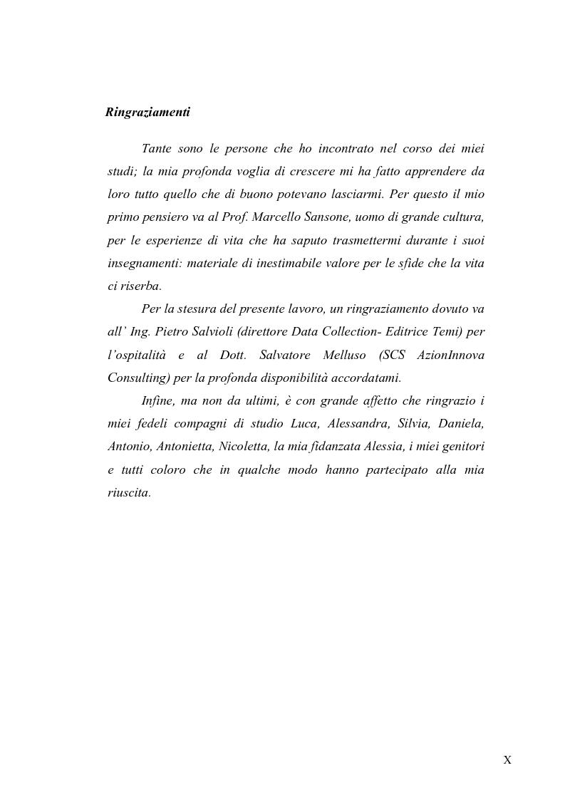 Anteprima della tesi: Evoluzione del ruolo della logistica nella distribuzione moderna, Pagina 7