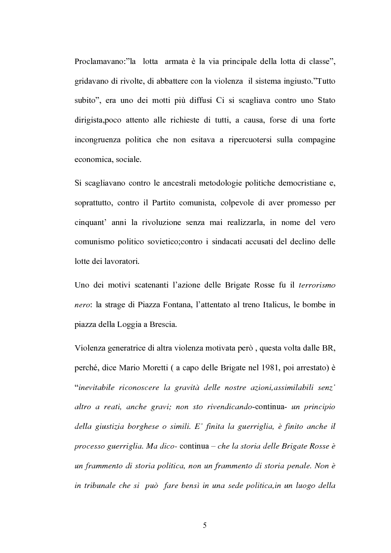 Anteprima della tesi: Un Passato che non passa: le Nuove Brigate Rosse, Pagina 2