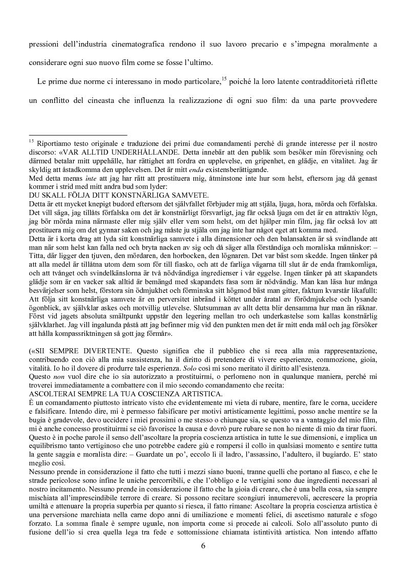 Anteprima della tesi: Influenze della modernità nel cinema di Woody Allen: l'eredità di Ingmar Bergman, Pagina 12