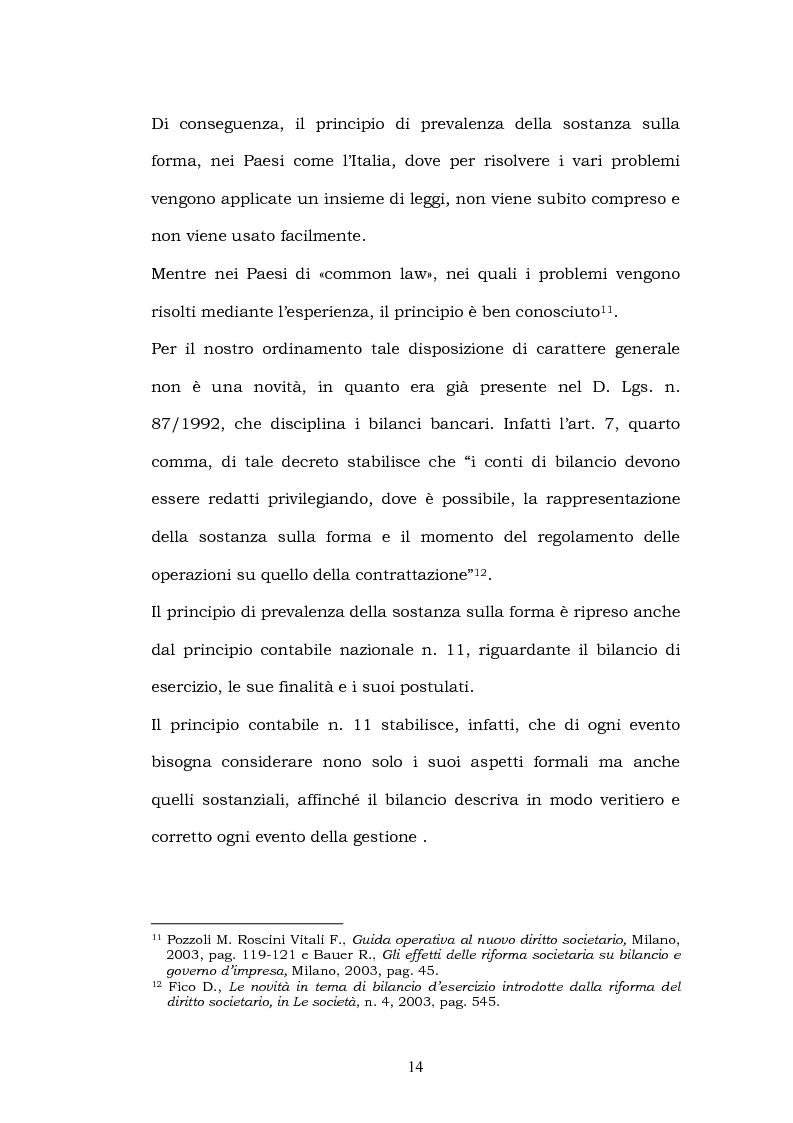 Anteprima della tesi: La riforma del bilancio, Pagina 12