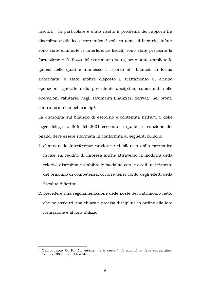 Anteprima della tesi: La riforma del bilancio, Pagina 4