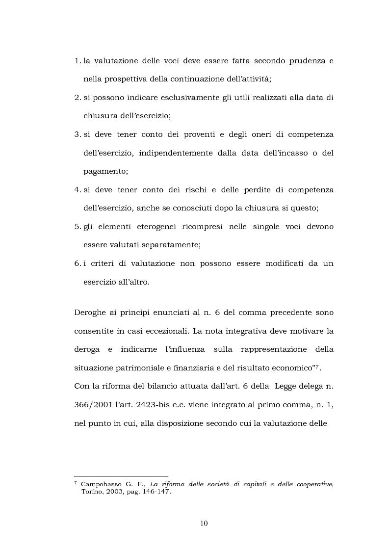 Anteprima della tesi: La riforma del bilancio, Pagina 8