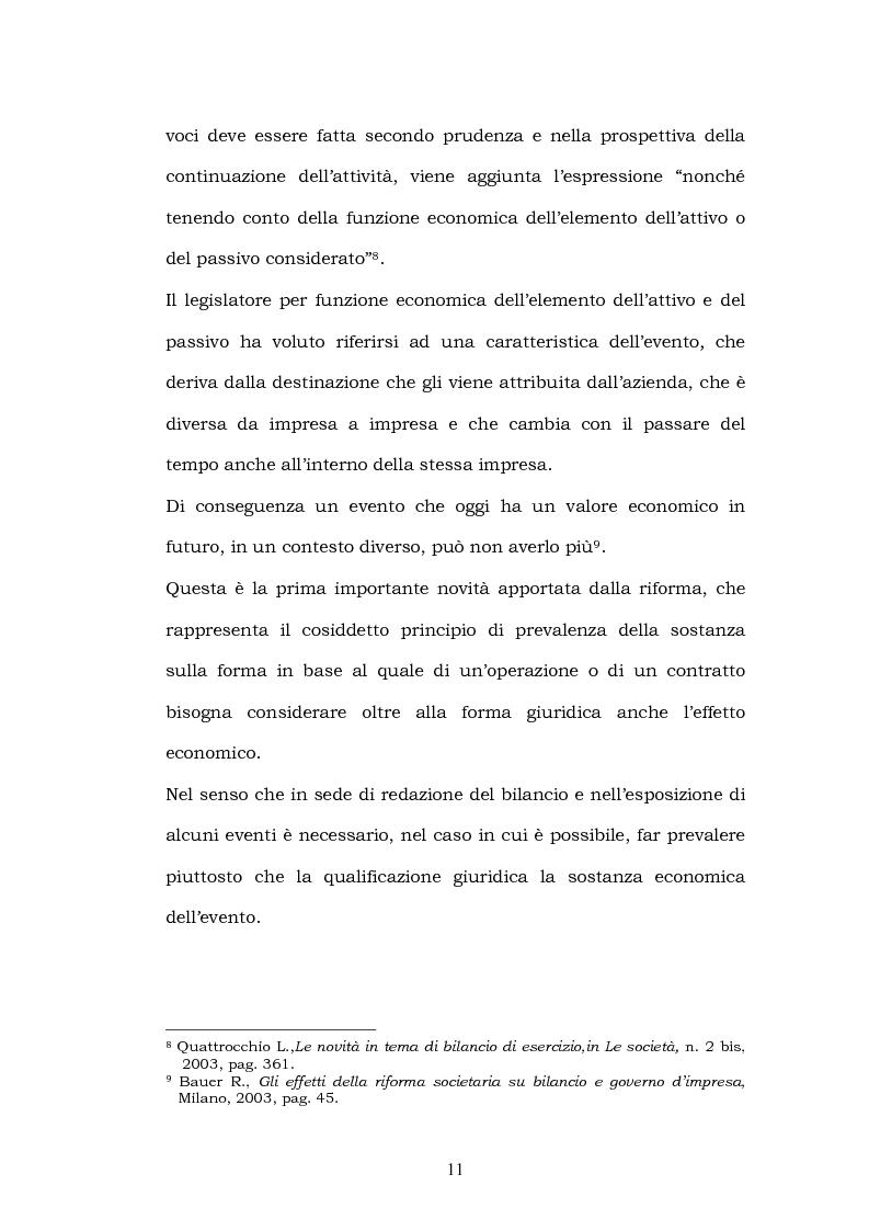 Anteprima della tesi: La riforma del bilancio, Pagina 9