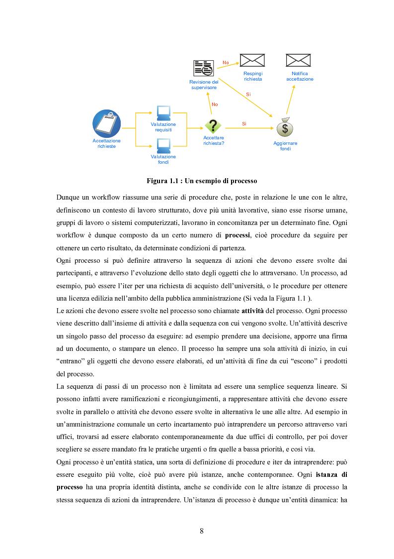 Anteprima della tesi: JWORKFLOW: un sistema per modellare workflow con utilizzo di strumenti di process mining, Pagina 4