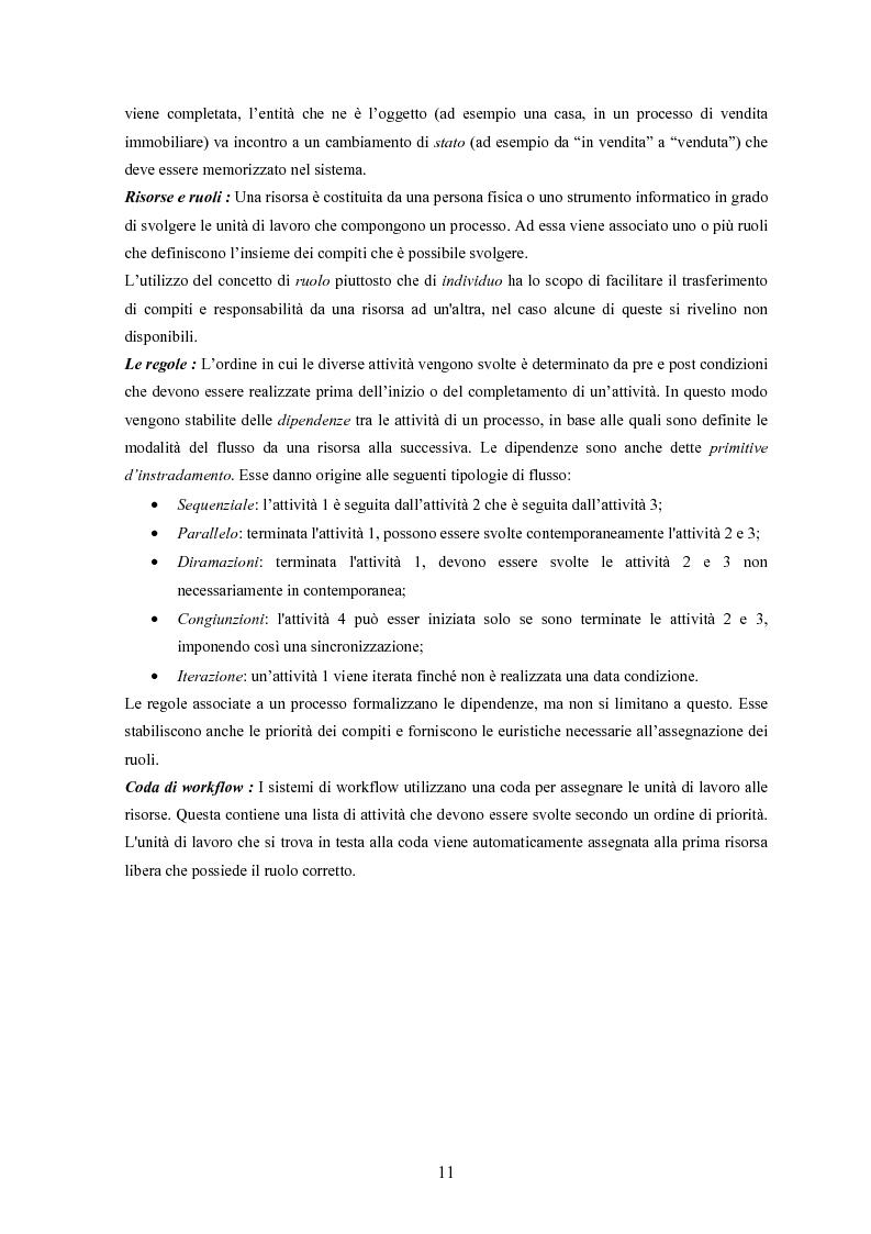 Anteprima della tesi: JWORKFLOW: un sistema per modellare workflow con utilizzo di strumenti di process mining, Pagina 7