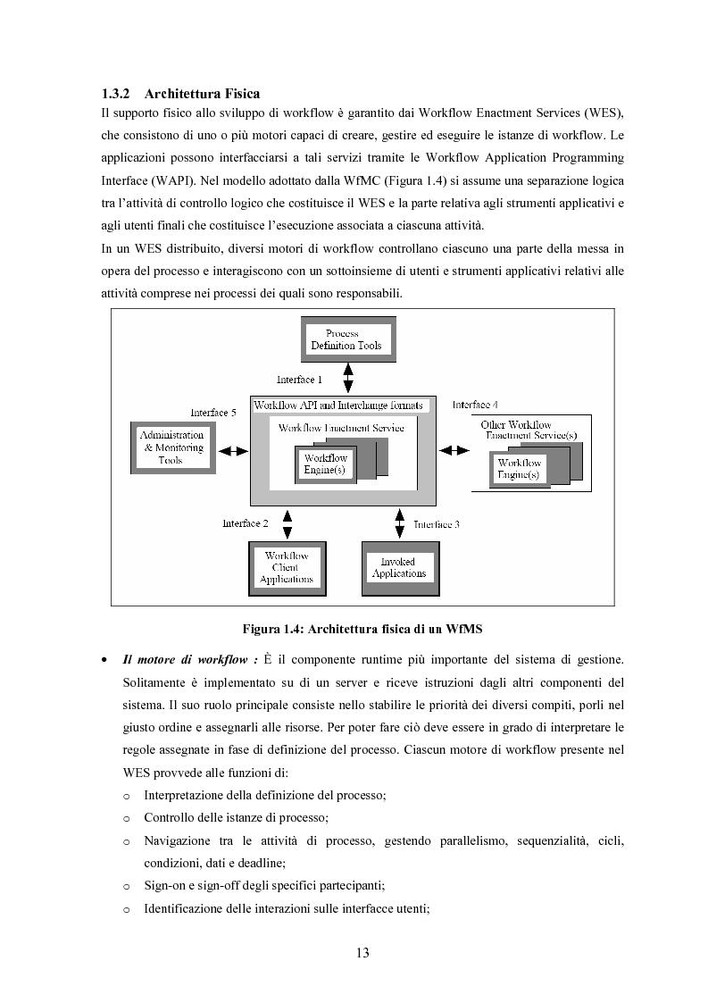Anteprima della tesi: JWORKFLOW: un sistema per modellare workflow con utilizzo di strumenti di process mining, Pagina 9