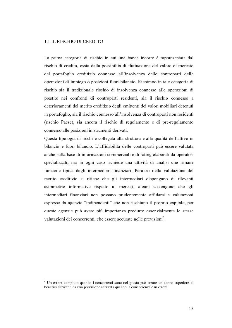 Anteprima della tesi: Ciclicità dell'economia e Rischio di Credito: una verifica empirica sul periodo 1985-2002, Pagina 10