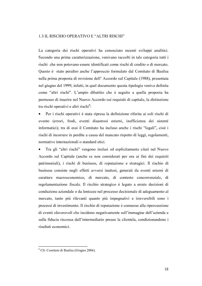 Anteprima della tesi: Ciclicità dell'economia e Rischio di Credito: una verifica empirica sul periodo 1985-2002, Pagina 13