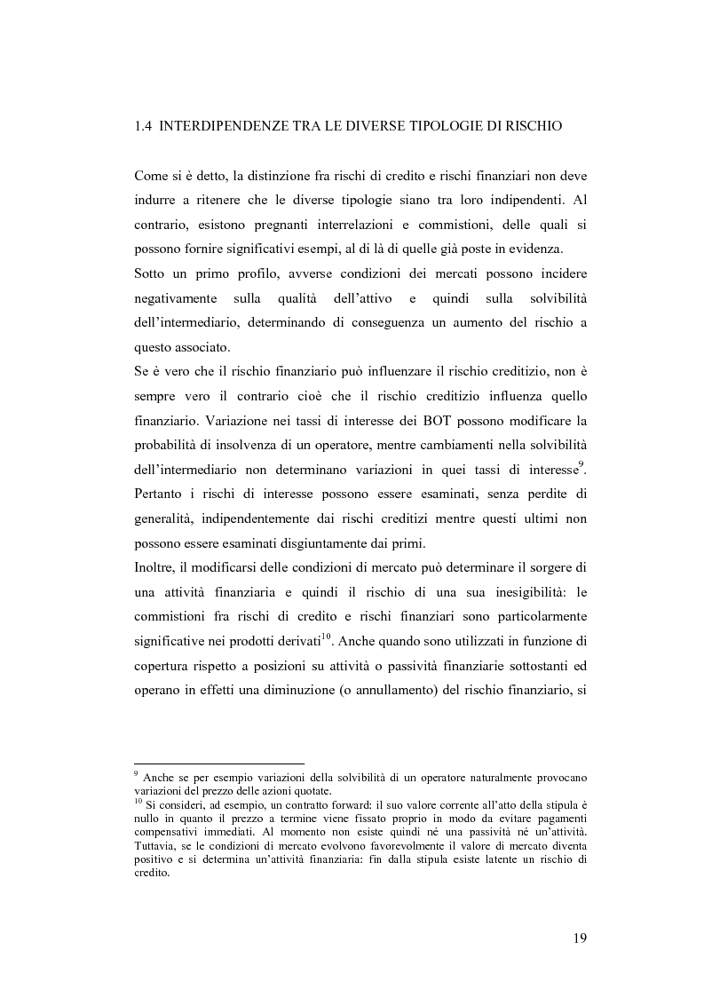 Anteprima della tesi: Ciclicità dell'economia e Rischio di Credito: una verifica empirica sul periodo 1985-2002, Pagina 14