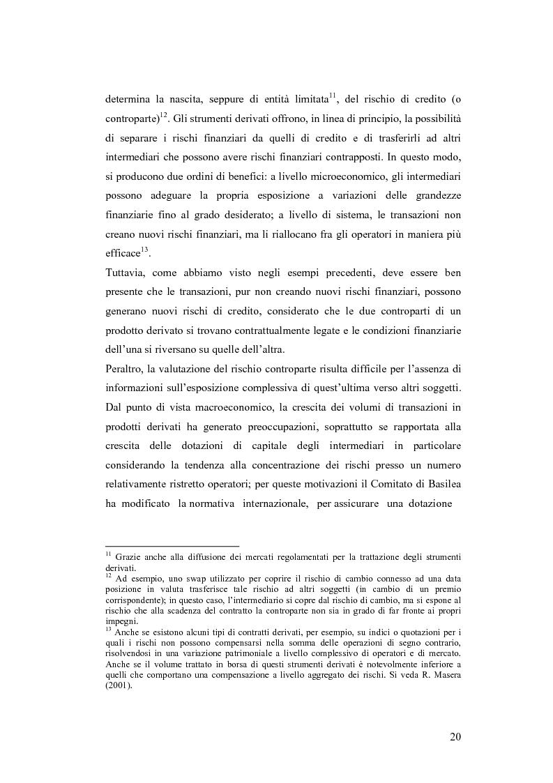 Anteprima della tesi: Ciclicità dell'economia e Rischio di Credito: una verifica empirica sul periodo 1985-2002, Pagina 15