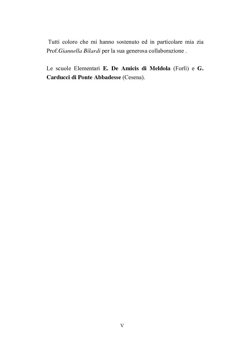 Anteprima della tesi: Progetti didattico-educativi al suono in alcune scuole elementari dell'Emilia Romagna, Pagina 2