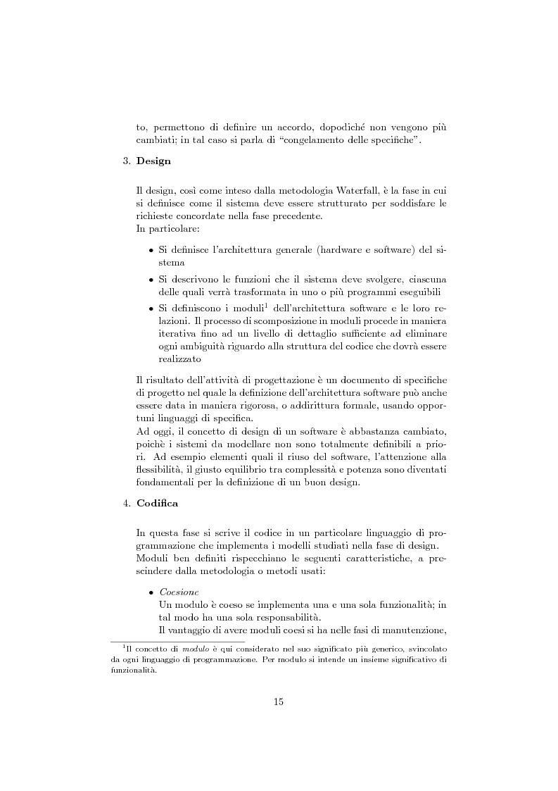 Anteprima della tesi: Da eXtreme Programming a XPTracking: la concretizzazione di valori e pratiche in una applicazione software, Pagina 9