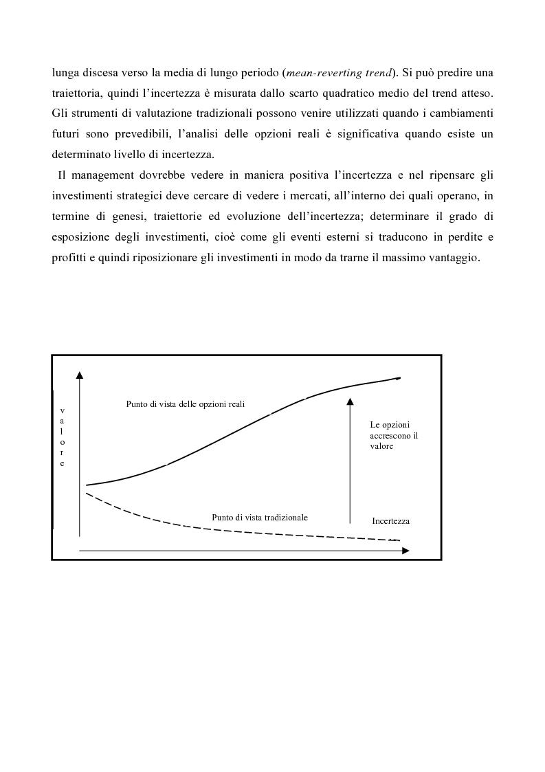 Anteprima della tesi: Le opzioni reali nelle problematiche di gestione, Pagina 11
