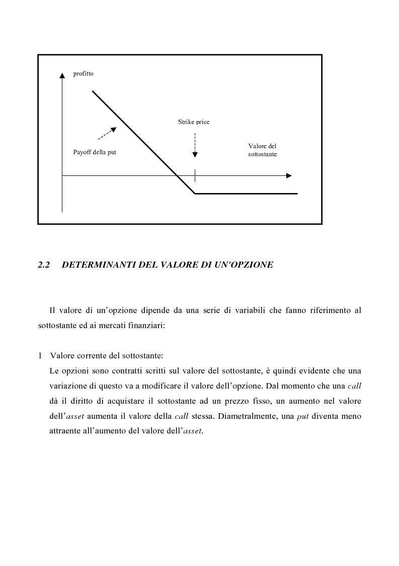 Anteprima della tesi: Le opzioni reali nelle problematiche di gestione, Pagina 3