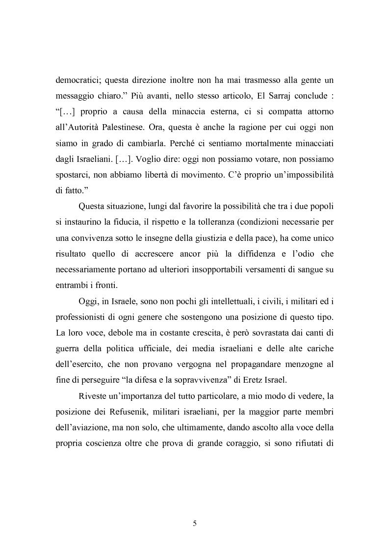 Anteprima della tesi: Il conflitto Israelo-Palestinese: la prospettiva psicologica di Daniel Bar-Tal, Pagina 5