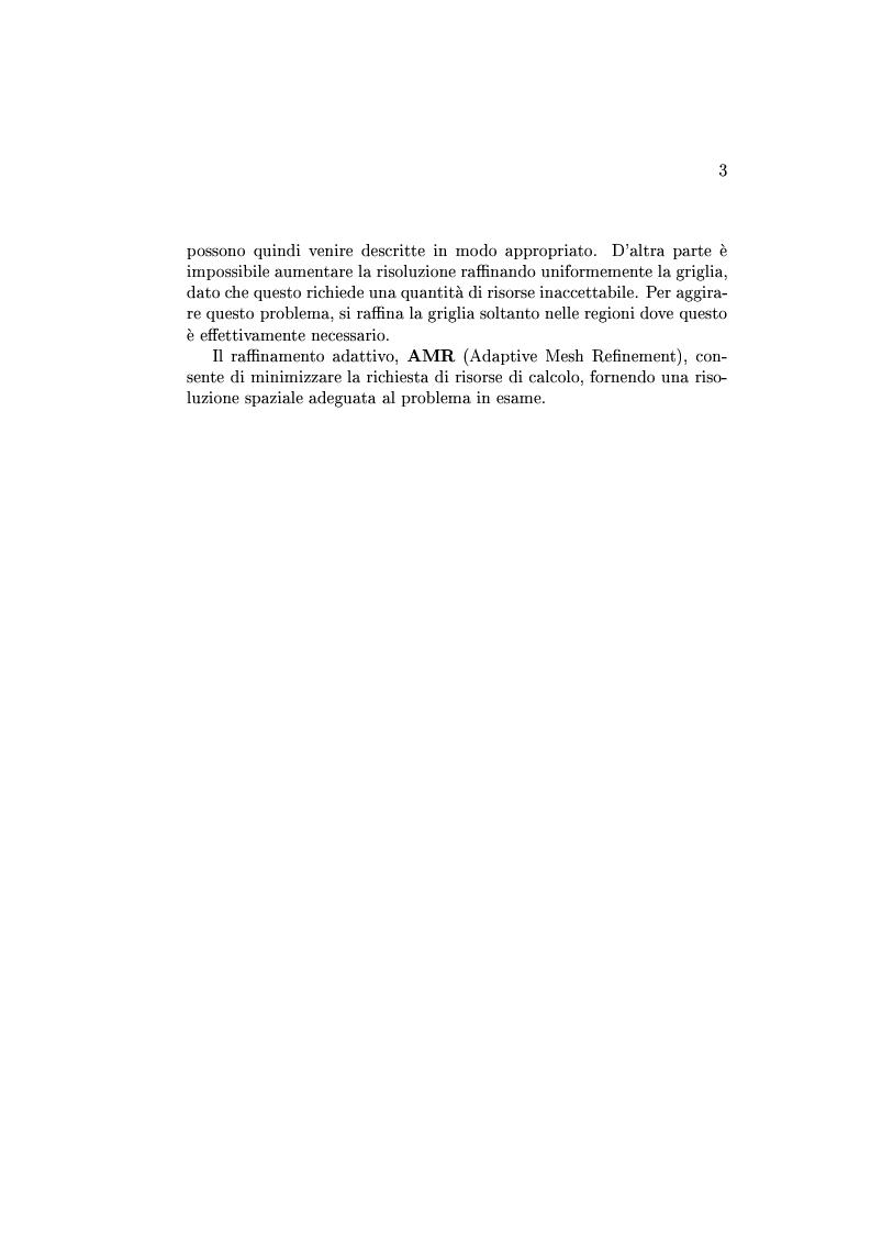 Anteprima della tesi: Un codice multigrid con griglia adattiva per il calcolo di campi gravitazionali, Pagina 3